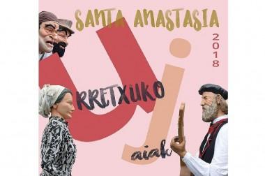 Concurso para la elección de portada del programa de Fiestas de Santa Anastasia 2018: Trabajos presentados