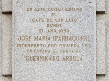 Semana Cultural iparragirre, Madriden.