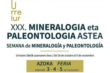 Feria de minerales, fósiles y gemas | XXX. Semana de Mineralogía y Paleontología