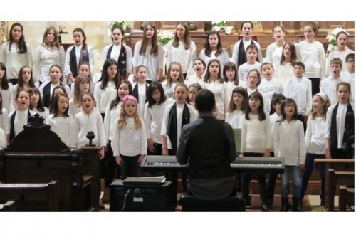 Encuentro de coros infantiles